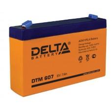 Аккумуляторная батарея Delta DTM 607