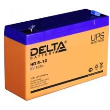 Аккумуляторная батарея Delta HR 6-12